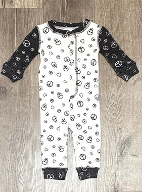 PJ Salvage Kids RUKPLRMPJ Romper Peace