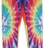 Candy Pink W20602 Rainbow Starburst Leggings