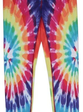 Candy Pink W20602 Rainbow Starburst Leggings