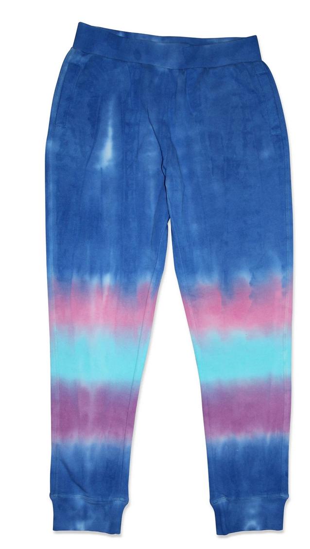 Candy Pink W20304 Marine Stripes Tie Dye Jogger, Multi