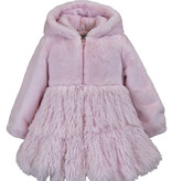 American Widgeon 3674-IFP Hooded Swing Coat, Ice Frosting Pink