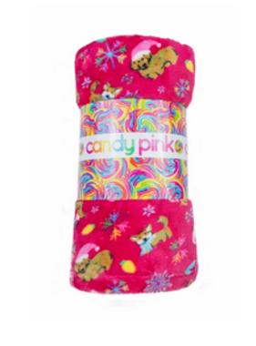 Candy Pink W19436 Xmas Dog Blanket 60x60