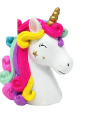 Pink Poppy Unicorn Money Box