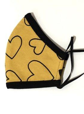 Face Mask PKP Kids Face Mask Confetti Love - Marigold