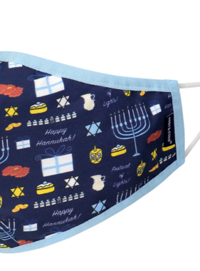Face Mask AE Holiday Face Mask ADULT Hannukah