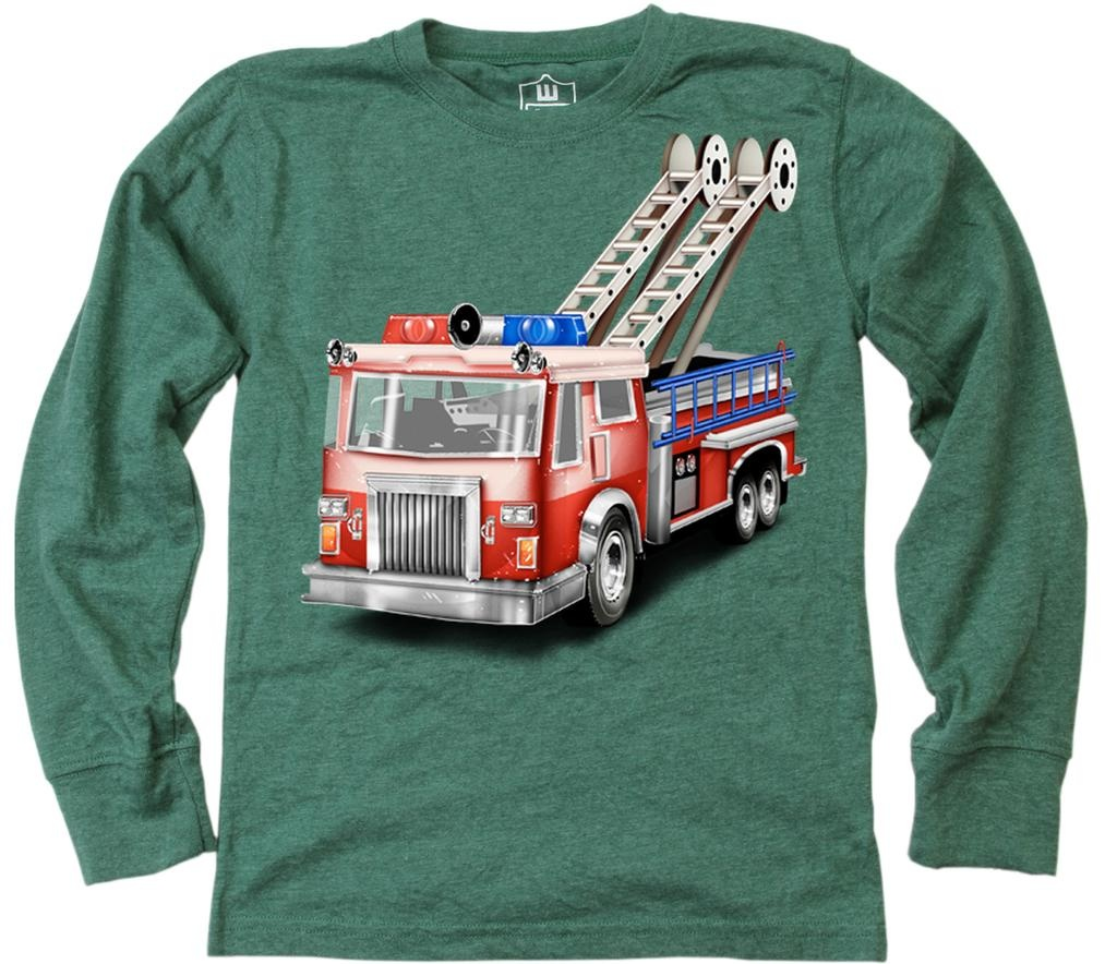 Wes And Willy 7657 Firetruck LS T Evergreen