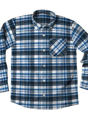 Wes And Willy JT510 LS Dress Shirt Midnight