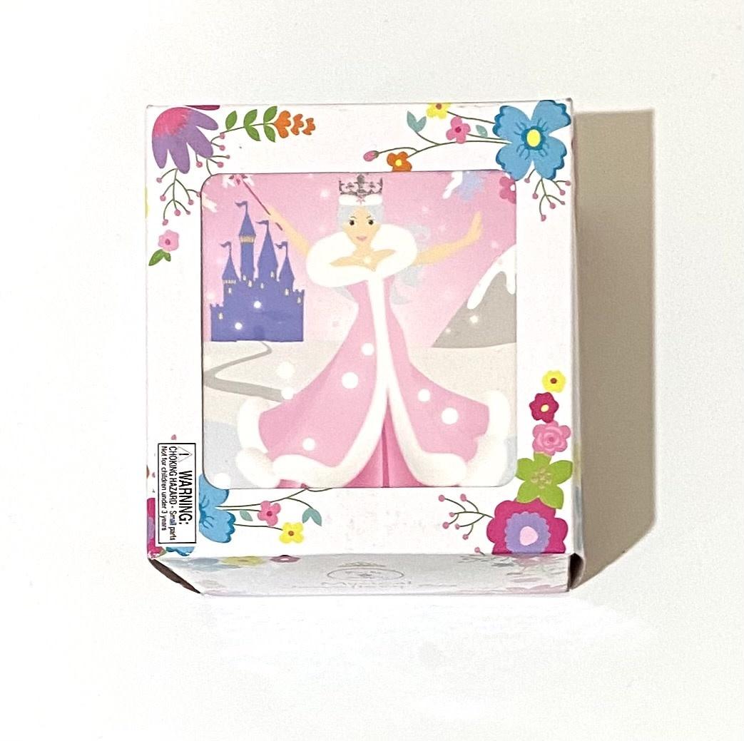 Pink Poppy Snow Princess Small Music Box