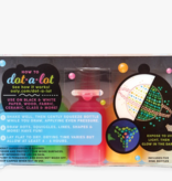 Ooly 170-006 - Dot-A-Lot Dimensional Craft Paint: Glow in the Dark