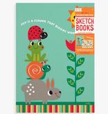 Ooly 118-209 Doodle Pad Duo Sketchbooks: Sunshine Garden