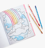 Ooly 128-151 Unique Unicorns Erasable Colored Pencils