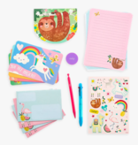 Ooly 138-009 On-The-Go Travel Stationery Kit: Funtastic Friends