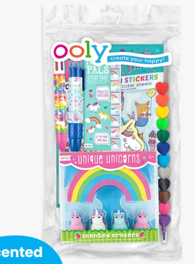 Ooly 191-111 Oh My! Unicorns & Mermaids Happy Pack