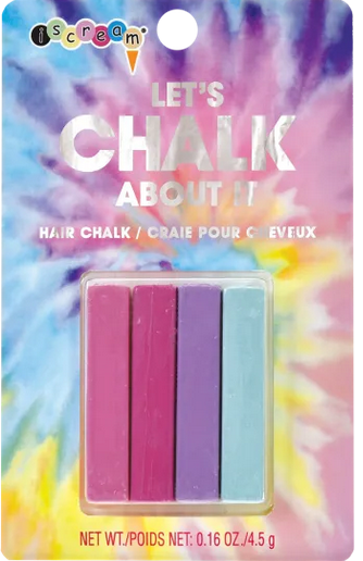 Iscream 815-042 LET'S CHALK ABOUT IT HAIRCHALK
