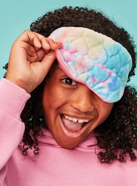 Iscream 880-206 COTTON CANDY HEARTQUILTED EYE MASK