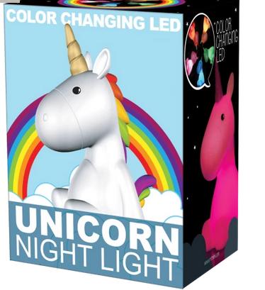 Iscream 865-001 Unicorn Night Light