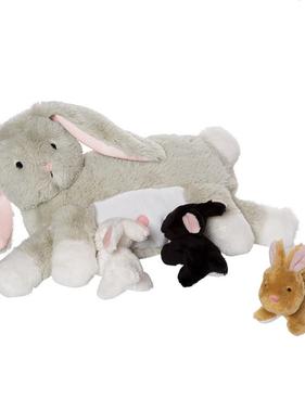 Manhattan Toy 156740 Nursing Nola Rabbit
