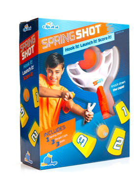 Blue Orange Djubi Spring Shot