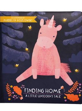 Manhattan Toy 216950 Finding Home  Little Unicorn's Tale Board Book