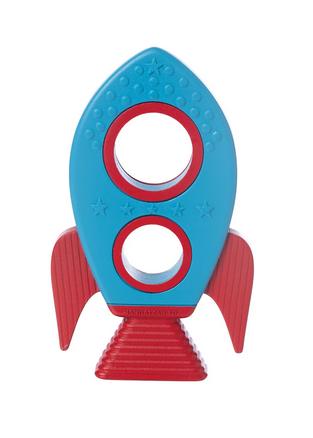 Manhattan Toy 217290 Silicone Teether Rocket 217290