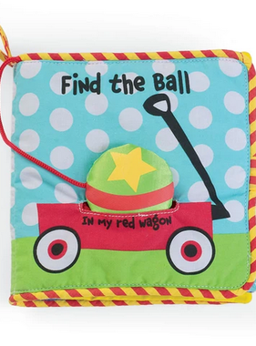 Manhattan Toy 208160 Find the Ball Soft Book 208160