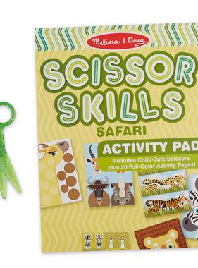 Melissa & Doug Safari Scissor Skills 32006