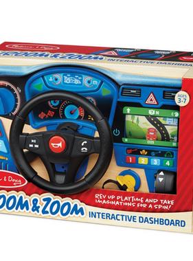 Melissa & Doug Vroom & Zoom Interactive Dashboard 31705