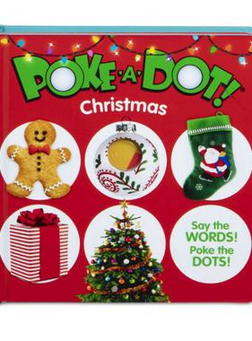 Melissa & Doug My First Poke a Dot Christmas 31534