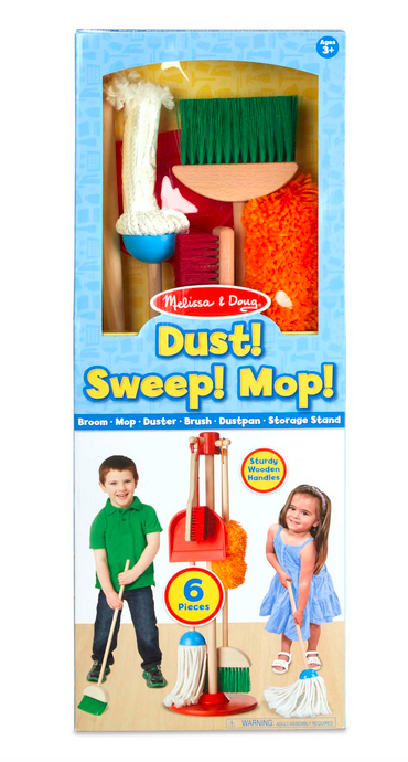 Melissa & Doug Let's Play House! Dust, Sweep & Mop 8600