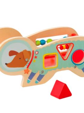 Manhattan Toy 218370 Wood Shaper Sorter Space Dog