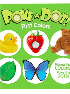 Melissa & Doug Small Poke A Dot: First Colors 31358