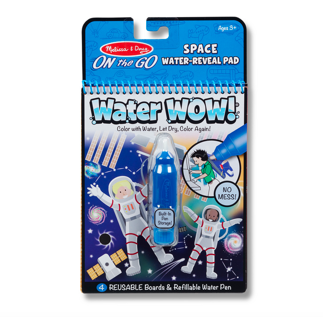 Melissa & Doug Water Wow - Space Water Reveal Pad 30178