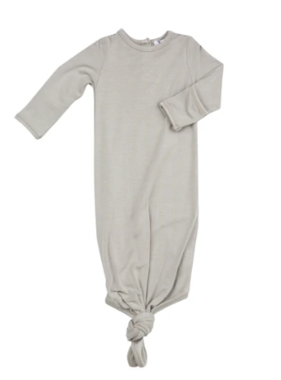 Angel Dear 127F0GRY KNOTTED GOWN/HAT - Grey