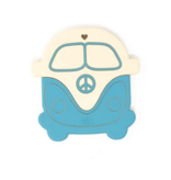 Three Hearts Vintage  Peace Bus Silicone Teether