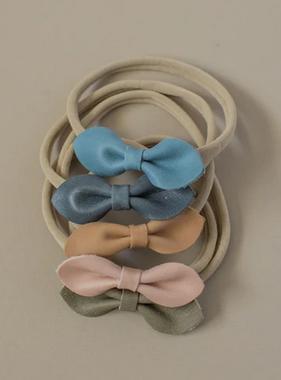 Three Hearts Eva Leather Headband