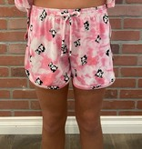 Tru Luv C-Top/Shorts Set-Pandas