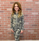 T2Love C-LS Hooded Jacket Rose Camo