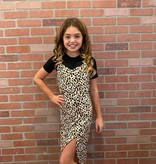 Tru Luv C-Dress Set Animal Print