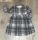 Cozii C-L/S Dress with Button Grey