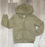 Cozii C-L/S Hooded Jacket Olive