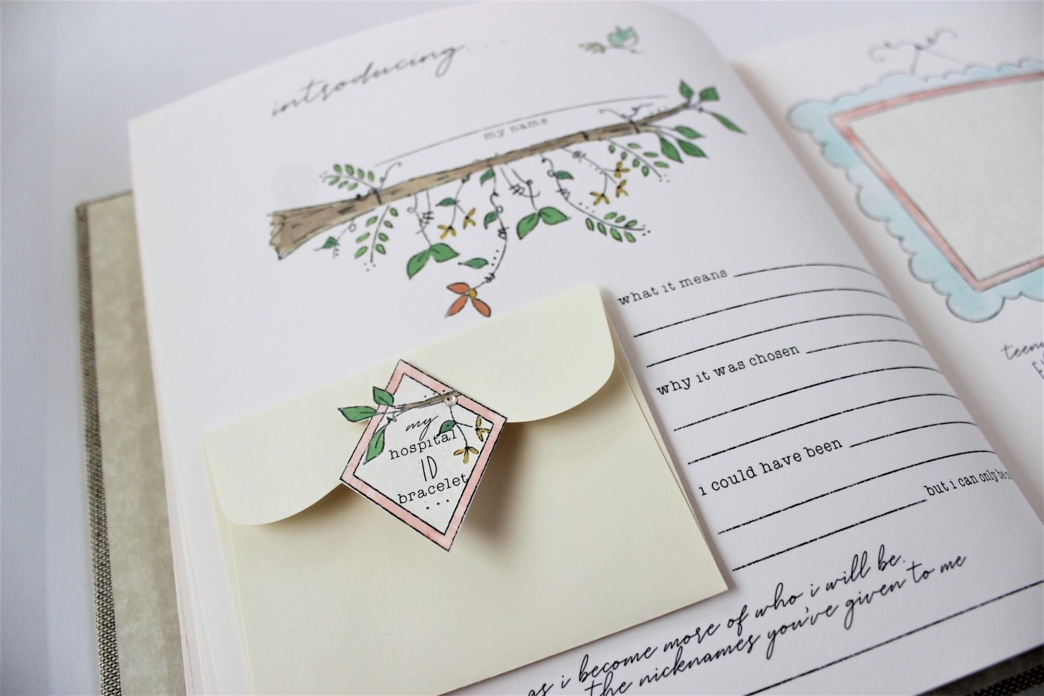 Baby Memory Book Baby Memory Book Dream Wish Love Pink