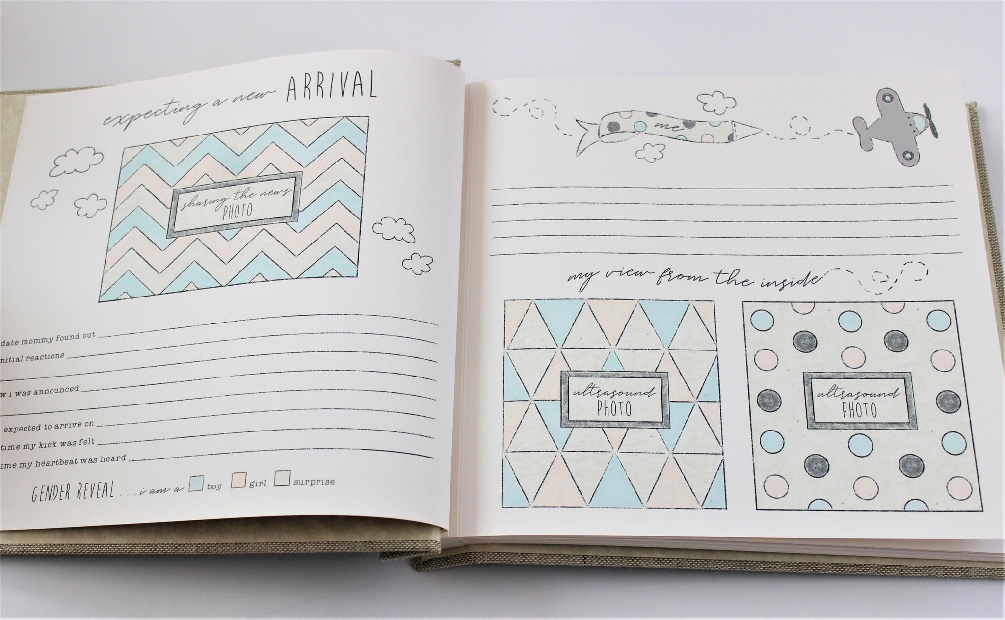 Baby Memory Book Baby Memory Book - Train