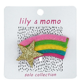 Lily & Momo Glitter Shooting Star Hair Clip