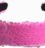 Lily & Momo Sequin Headband Bubblegum
