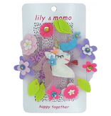 Lily & Momo Forest Unicorn Hair Clip