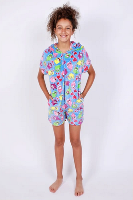 Candy Pink Romper, Otter