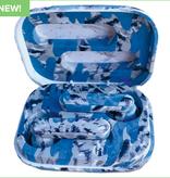 Iscream Blue Tie Dye Compact Ear Buds-TWS Style 745-108