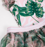 Shade Critters Organza 1 shoudler w. tutu - pink palm