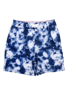 Shade Critters Boys Trunks Navy TIe Dye