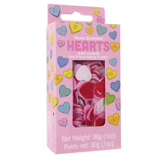 Iscream Heart Bath Confetti 815-024